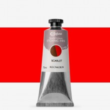 Cranfield : Traditional Etching Ink : 75ml : Scarlet