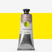 Cranfield : Traditional Etching Ink : 75ml : Lemon Yellow