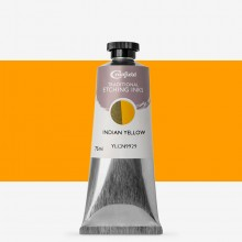 Cranfield : Traditional Etching Ink : 75ml : Indian Yellow