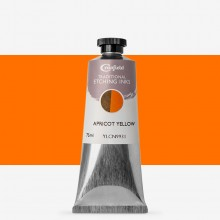 Cranfield : Traditional Etching Ink : 75ml : Apricot Yellow