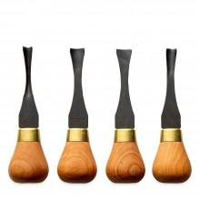 Flexcut : Wide Palm : Carving Tool Set : Set of 4