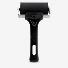 Essdee : Professional Ink Roller (Black Handle) : 7.5cm