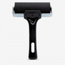 Essdee : Professional Ink Roller (Black Handle) : 10cm