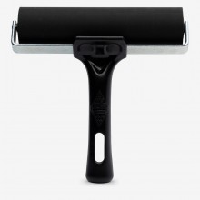 Essdee : Professional Ink Roller (Black Handle) : 15cm