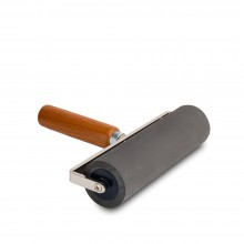 Japanese Soft Rubber Roller / Brayer : 30 Shore : 165mm