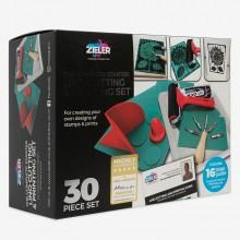 Zieler : Lino Cutting & Printing Set