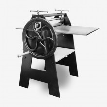 AE Presses : Floor Standing Etching Press : 29x56in : With Woven Wool Felts