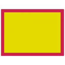 Jackson's : Aluminium Screen Printing Screen : 120T Yellow Mesh : 31x23 inches