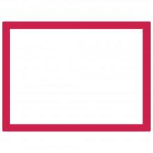 Jackson's : Aluminium Screen Printing Screen : 55T White Mesh : 31x23 inches