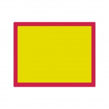 Jackson's : Aluminium Screen Printing Screen : 77T Yellow Mesh : 19x24 inches