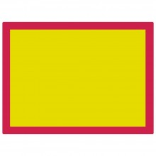 Jackson's : Aluminium Screen Printing Screen : 77T Yellow Mesh : 31x23 inches