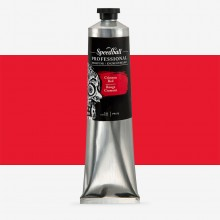 Speedball : Professional Relief Ink : 5oz (147.9ml) : Crimson Red