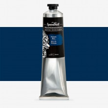 Speedball : Professional Relief Ink : 5oz (147.9ml) : Phthalo Blue