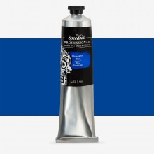 Speedball : Professional Relief Ink : 5oz (147.9ml) : Ultramarine Blue