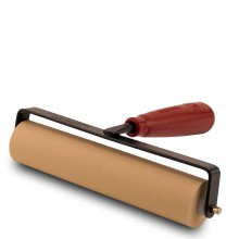 Speedball : Soft Rubber Roller / Brayer : 6in