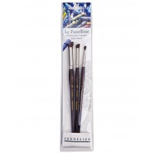 Sennelier : Le Pastelliste Pastel Brush : Set of 3