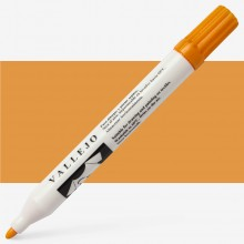 Vallejo : Textile Marker : 1mm Felt Tip : Gold Yellow