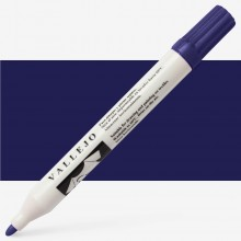 Vallejo : Textile Marker : 1mm Felt Tip : Dark Blue