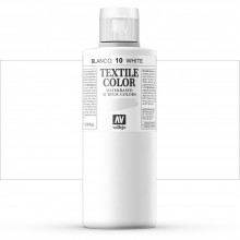 Vallejo : Textile Paint : 200ml : White