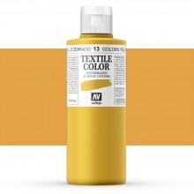 Vallejo : Textile Paint : 200ml : Golden Yellow