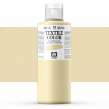 Vallejo : Textile Paint : 200ml : Beige