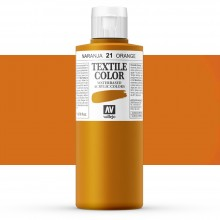 Vallejo : Textile Paint : 200ml : Orange