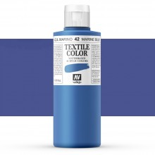 Vallejo : Textile Paint : 200ml : Marine Blue