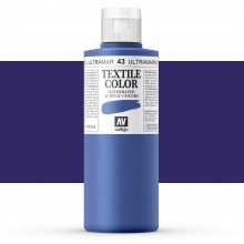 Vallejo : Textile Paint : 200ml : Blue