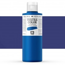 Vallejo : Textile Paint : 200ml : Royal Blue