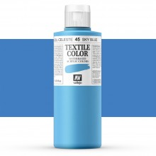 Vallejo : Textile Paint : 200ml : Sky Blue