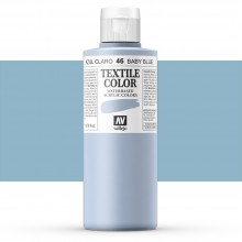 Vallejo : Textile Paint : 200ml : Baby Blue
