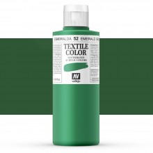 Vallejo : Textile Paint : 200ml : Emerald Green