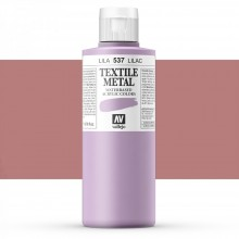 Vallejo : Textile Paint : 200ml : Metallic Lilac Pearl