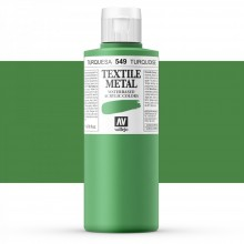 Vallejo : Textile Paint : 200ml : Turquoise Pearl