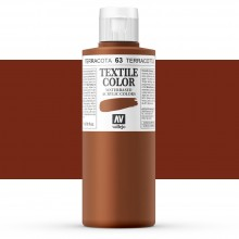 Vallejo : Textile Paint : 200ml : Terracotta