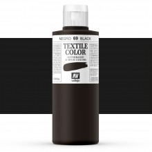 Vallejo : Textile Paint : 200ml : Black