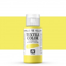 Vallejo : Textile Paint : 60ml : Yellow