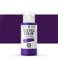Vallejo : Textile Paint : 60ml : Parma Violet