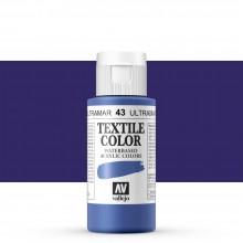 Vallejo : Textile Paint : 60ml : Blue