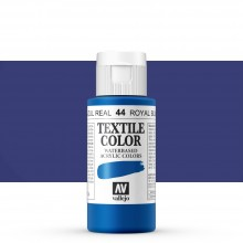 Vallejo : Textile Paint : 60ml : Royal Blue