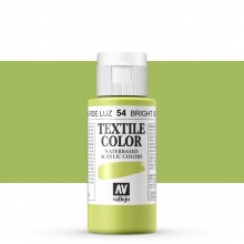 Vallejo : Textile Paint : 60ml : Bright Green