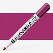 Pebeo : Setaskrib+ Fabric Marker Brush Tip : Magenta (405)