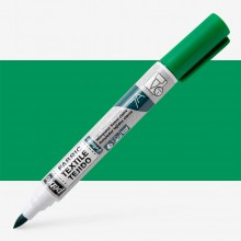 Pebeo Setaskrib+ Fabric Marker Brush Tip Green