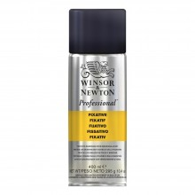 Winsor & Newton : Professional : Soft Pastel Fixative Spray : 400ml : Ship By Road Only