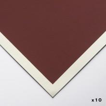 Art Spectrum : Colourfix Original : Pastel Paper : 24x32cm : Burgundy : Pack of 10