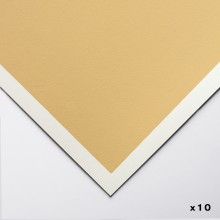 Art Spectrum : Colourfix Pastel Paper : 50x70cm : Rich Beige : Pack of 10