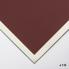 Art Spectrum : Colourfix Pastel Paper : 50x70cm : Burgundy : Pack of 10