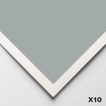 Art Spectrum : Colourfix Smooth : Pastel Paper : 50x70cm : Fresh Grey : Pack of 10