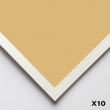 Art Spectrum : Colourfix Smooth : Pastel Paper : 50x70cm : Rich Beige : Pack of 10