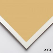 Art Spectrum : Colourfix Smooth : Pastel Paper : 50x70cm : Rich Beige : Pack of 10